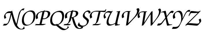 Invitation Regular Font UPPERCASE