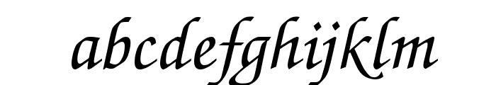Invitation Regular Font LOWERCASE