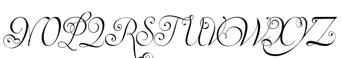 Invitation Script LIMITED FREE VERSION Font UPPERCASE