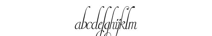 Invitation Script LIMITED FREE VERSION Font LOWERCASE