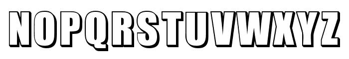 Invited Regular Font UPPERCASE