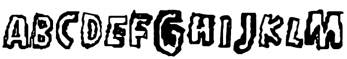 in_my_head Font LOWERCASE