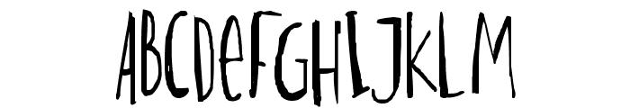 incognita Font UPPERCASE