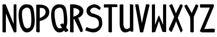 indy pimp Bold Font LOWERCASE