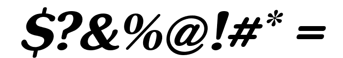inglobal Bold Italic Font OTHER CHARS