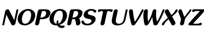 inglobal Bold Italic Font UPPERCASE