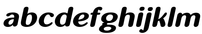 inglobal Bold Italic Font LOWERCASE