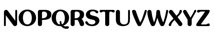 inglobal Bold Font UPPERCASE