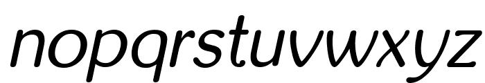 inglobal Italic Font LOWERCASE
