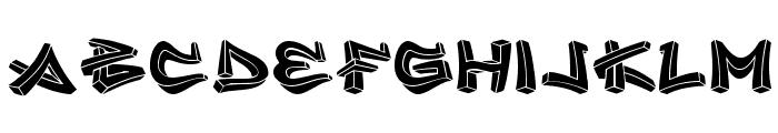 inner city Font LOWERCASE