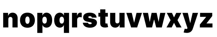Inter Black Font LOWERCASE