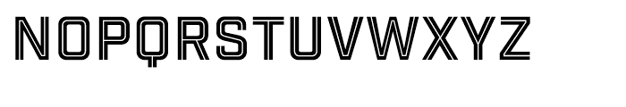 Industry Inc Cutline Font LOWERCASE