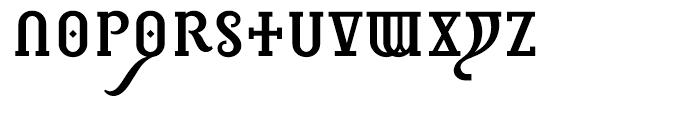 Infidel C Font UPPERCASE