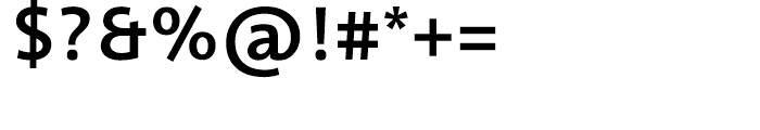 Informa Medium Font OTHER CHARS