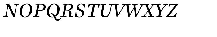 Ingeborg Italic Font UPPERCASE