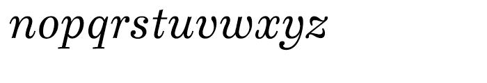 Ingeborg Italic Font LOWERCASE