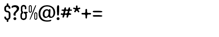 Integra Chic Regular Font OTHER CHARS