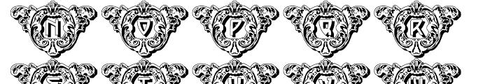 Intellecta Crafts Decorative Shadow Regular Font UPPERCASE