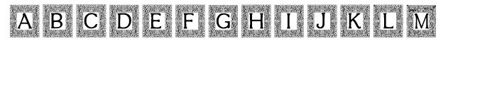 Intellecta Decorative 018 Font UPPERCASE