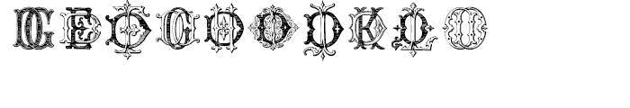 Intellecta Monograms DDDP Font OTHER CHARS