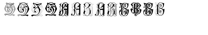 Intellecta Monograms Soft ZAZZ Font UPPERCASE
