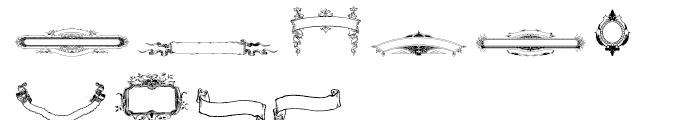 Intellecta Ribbons Regular Font OTHER CHARS