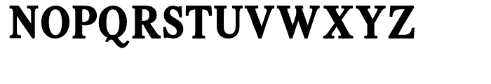 Intellecta Romana Humanistica Bold Font UPPERCASE