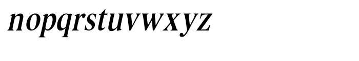 Intellecta Romana Humanistica Italic Font LOWERCASE