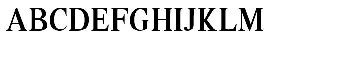 Intellecta Romana Humanistica Regular Font UPPERCASE