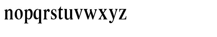 Intellecta Romana Humanistica Regular Font LOWERCASE