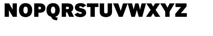 InterFace Black Font UPPERCASE