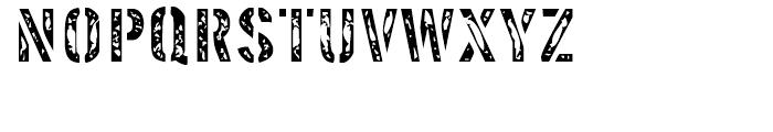 Interplanetary Crap Regular Font UPPERCASE