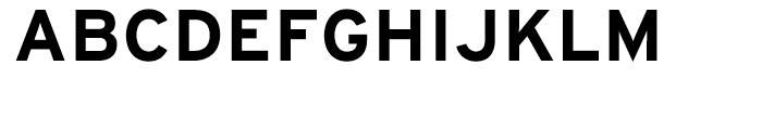 Interstate Bold Font UPPERCASE