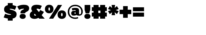 Interstate Ultra Black Font OTHER CHARS