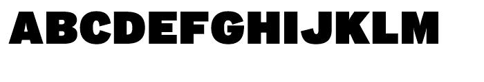 Interstate Ultra Black Font UPPERCASE