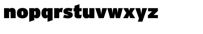 Interstate Ultra Black Font LOWERCASE