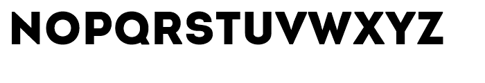 Intro Black Font UPPERCASE