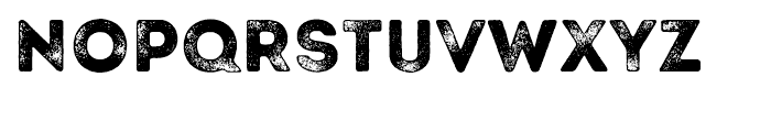 Intro Rust Grunge Font LOWERCASE