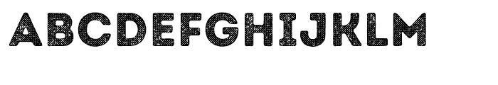 Intro Rust Halftone 2 Font LOWERCASE