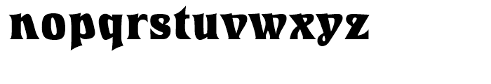 Introspect Bold Font LOWERCASE