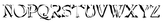 Invacuo Cloak Font UPPERCASE