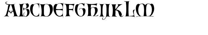 Inversion Regular Font LOWERCASE
