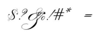 IndentureEnglishPenman Regular Font OTHER CHARS