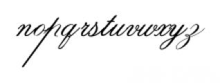 IndentureEnglishPenman Regular Font LOWERCASE