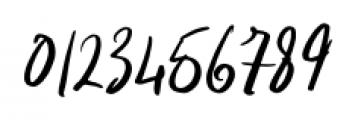 Indigo Blue Italic Font OTHER CHARS