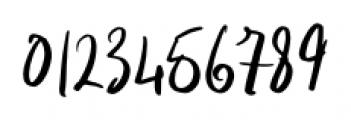 Indigo Blue Regular Font OTHER CHARS