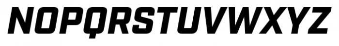 Industry Black Italic Font UPPERCASE