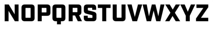 Industry Black Font UPPERCASE