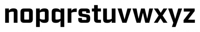 Industry Bold Font LOWERCASE