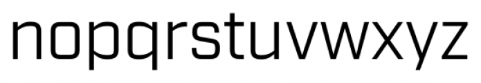 Industry Book Font LOWERCASE